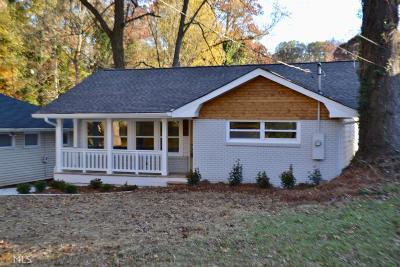 Atlanta Single Family Home New: 1246 Beecher