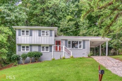 Atlanta Single Family Home New: 2446 Crestdale Cir