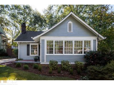 Decatur Single Family Home Under Contract: 324 Montgomery