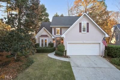 Alpharetta Single Family Home Under Contract: 110 Harbour Ridge Run