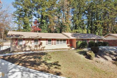 Atlanta Single Family Home New: 3873 King Arthur Rd