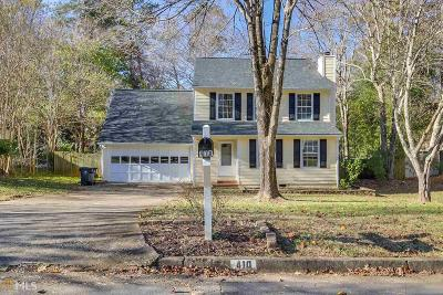 Roswell Single Family Home New: 410 Sheringham Ct
