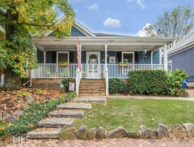 Cabbagetown Single Family Home Under Contract: 143 Estoria St