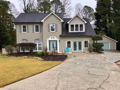 Snellville Single Family Home Under Contract: 1730 Inlet Lake Pl