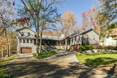 Lumpkin County Single Family Home Under Contract: 470 Shore Dr