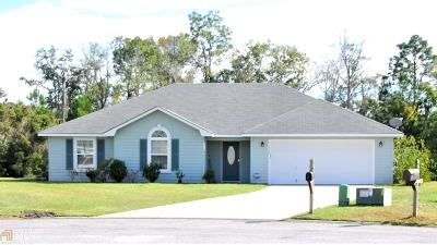 Kingsland GA Single Family Home New: $193,000
