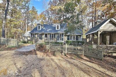 Newnan Single Family Home Under Contract: 893 Happy Valley