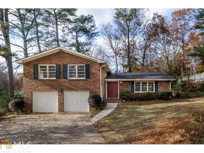 Brookhaven Single Family Home Under Contract: 1464 Runnymeade Rd