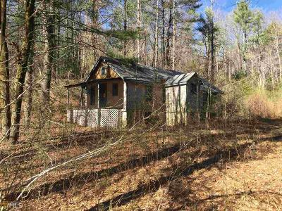 Dahlonega Single Family Home For Sale: 1500 Nimblewill Gap Rd