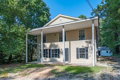 Union City Single Family Home Under Contract: 6370 Lower Dixie Lake Rd