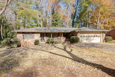 Stone Mountain Single Family Home Under Contract: 4446 Cherie Glen Trl