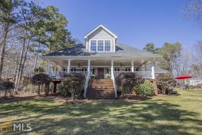 Greensboro, Eatonton Single Family Home For Sale: 1073 Crooked Creek Rd