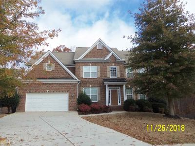 Douglasville Single Family Home New: 3601 Cedar Bluff