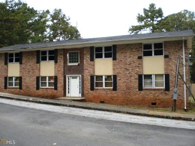 Dekalb County Multi Family Home New: 1651 Line Cir