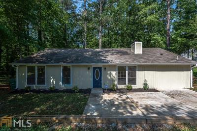 Stone Mountain Single Family Home New: 819 Hemingway Rd