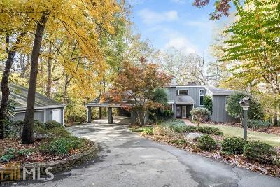Sandy Springs Single Family Home Under Contract: 1650 Chevron Way