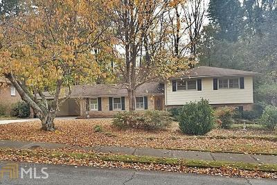 Decatur Single Family Home Under Contract: 2921 Country Squire Ln
