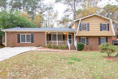 Tucker Single Family Home Under Contract: 1616 Drayton Woods Dr
