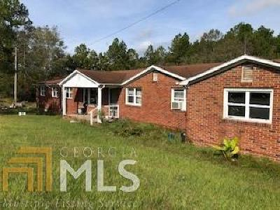 Statesboro Single Family Home For Sale: 898 Pulaski