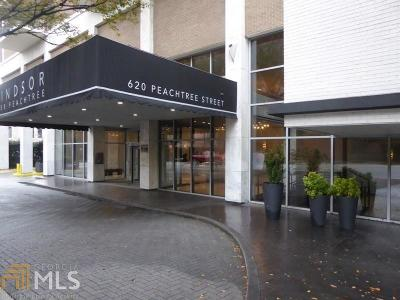 Windsor Over Peachtree Condo/Townhouse Under Contract: 620 Peachtree St #1107