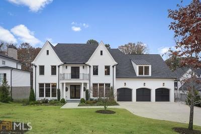 Buckhead Single Family Home New: 4007 Whittington Dr