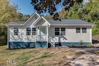 Stone Mountain Single Family Home Under Contract: 889 S Hairston Rd