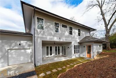 Atlanta Single Family Home New: 112 Cleveland St #B
