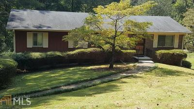 Stone Mountain Single Family Home New: 4323 Autumn Hill Dr