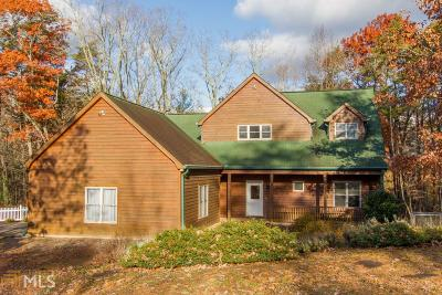 Dahlonega Single Family Home For Sale: 524 Syrup Mill Rd