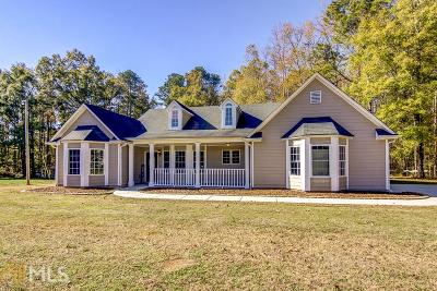 Fayetteville Single Family Home Under Contract: 135 Shamrock Dr #2.7 Acre