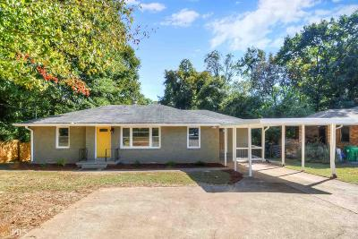 Decatur Single Family Home For Sale: 3557 N Druid Hills
