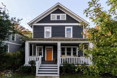 Decatur Single Family Home Under Contract: 314 Melrose