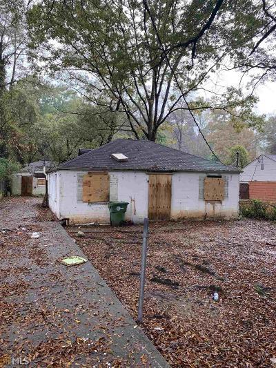 Atlanta Single Family Home For Sale: 1367 Graymont Dr