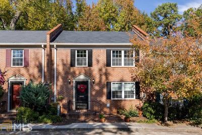 Decatur Condo/Townhouse Under Contract: 876 E Ponce De Leon Ave