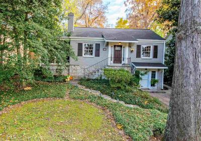 Decatur Single Family Home Under Contract: 247 Chelsea Dr
