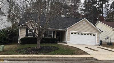 Newnan Single Family Home Under Contract: 124 Prescott Ct
