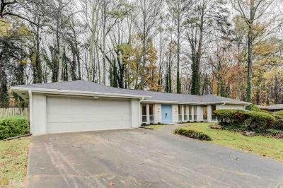 Stone Mountain Single Family Home Under Contract: 1320 Hidden Hills Pkwy