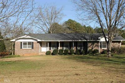 Fairburn Single Family Home Contingent With Kickout: 7510 Cedar Grove Rd