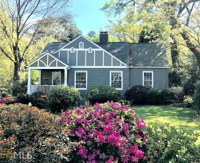 Avondale Estates Single Family Home Under Contract: 3183 Kensington Rd