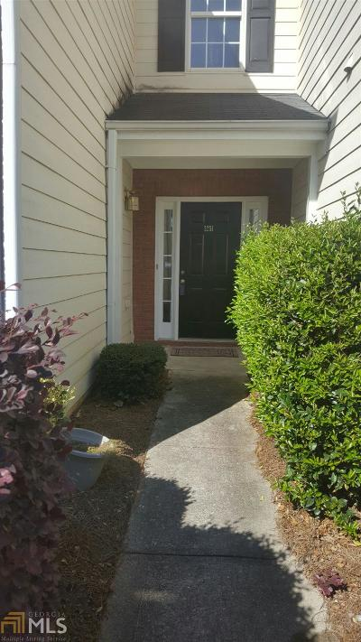 Lawrenceville Condo/Townhouse Under Contract: 1251 Primrose Vw Dr