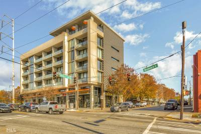 Tribute Lofts Condo/Townhouse Under Contract: 480 John Wesley Dobbs Ave #617
