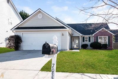 Fairburn Single Family Home New: 7033 Preserve Pkwy
