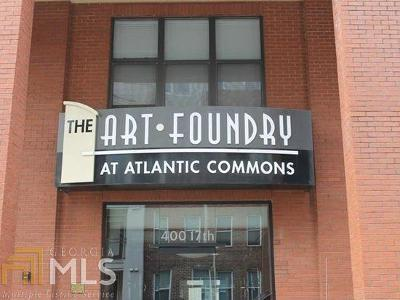 Art Foundry, Art Foundry At Atlantic Station, Art Foundry Atlantic Commons Condo/Townhouse For Sale: 400 17th St