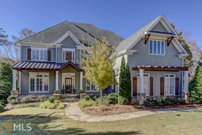 Milton Single Family Home New: 775 Lake Mist Cv