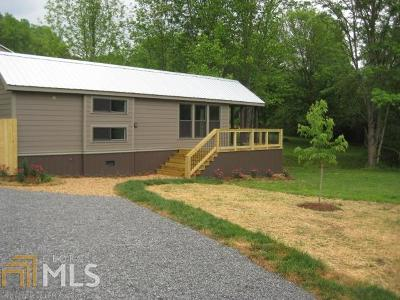 Rabun County Single Family Home For Sale: 168 Maple Springs Ln