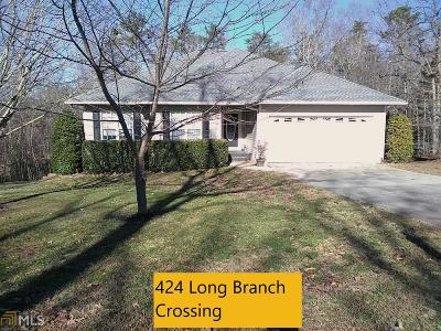 Dahlonega Single Family Home New: 424 Long Branch Xing #30