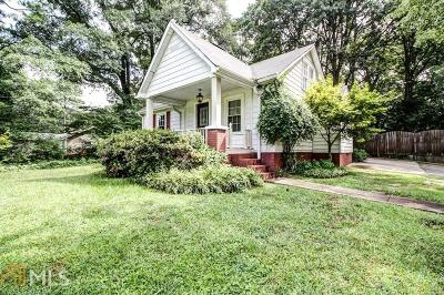 Decatur Single Family Home New: 1685 Frazier Rd