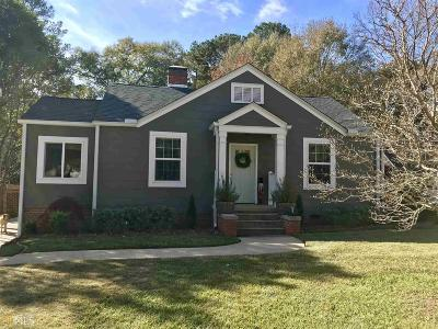 Griffin Single Family Home Under Contract: 736 Bieze St