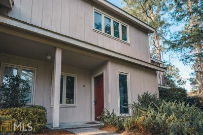 Statesboro Condo/Townhouse For Sale: 19 Woodrum Pl