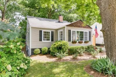 College Park Single Family Home Under Contract: 1586 Temple Ave